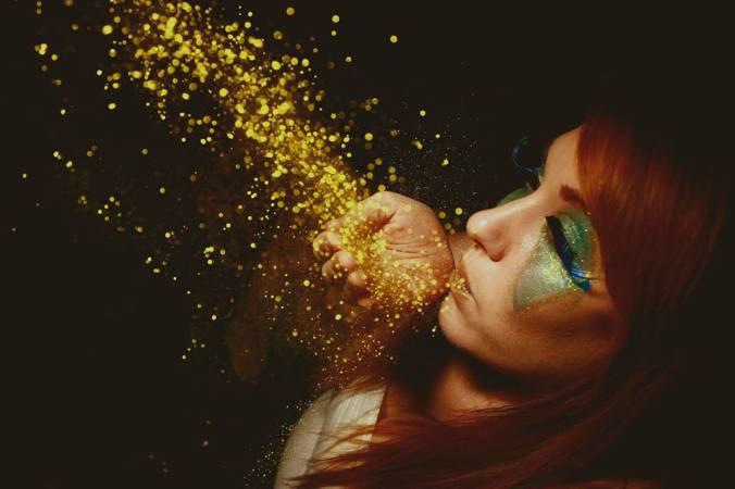 glitter shoot